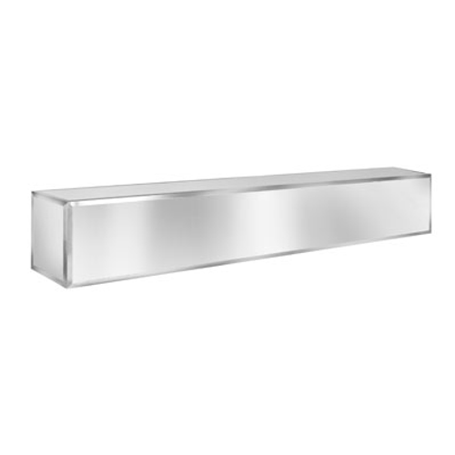"Eastern Tabletop ST5950BLSS 66-5/8"" Stainless Steel Hub Buffet Bar Counter"