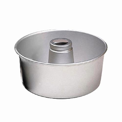 "American Metalcraft  AFP958  10"" x 4""  Aluminum  Angel Food Cake Pan"