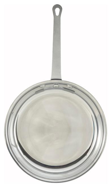 "Winco AFP-12 12"" Aluminum Majestic™ Fry Pan"
