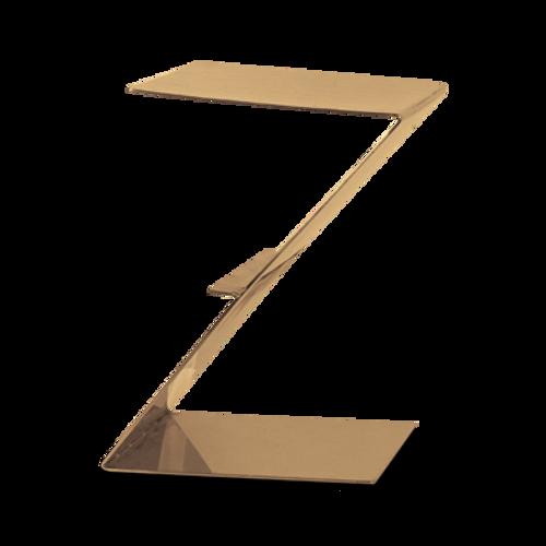 "Eastern Tabletop 1203RZ 10""W x 10""D x 12""H Bronze Stainless Steel Design Riser"