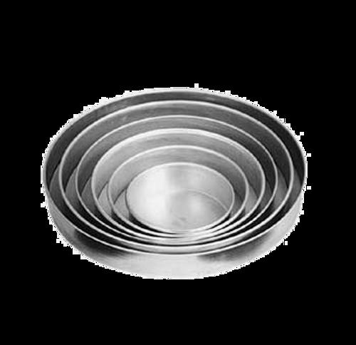"American Metalcraft  T80082  8"" x 2""  Round  Tin Plate / Steel  Pizza Pan"