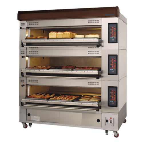 Turbo Air RBDO-43 Radiance triple-Deck Oven Electric 3 tiers