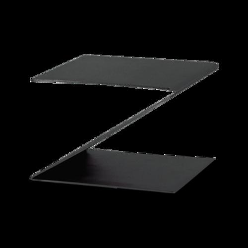 "Eastern Tabletop 1201MB 10""W x 10""D x 6""H Black Stainless Steel Design Riser"