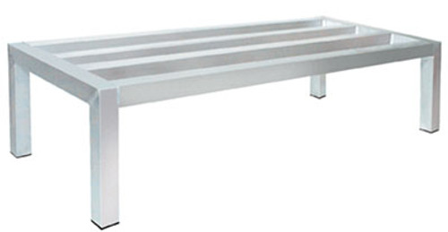Advance Tabco DUN-2460-8-2X Special Value Dunnage Rack square bar one tier 60 Inches