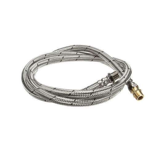 00-893444-00002 HOSE,WATER,BRAIDED,SST 1/2X84