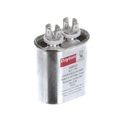 01-1000V8-00111 CAPACITOR,4MFD,370VAC,OVAL