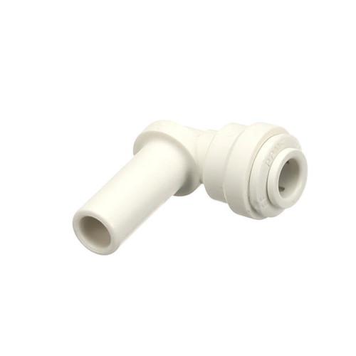 Parts Town 00988030 ELBOW, 1/4 TUBE X 3/8 STEM, POLYPROYLENE JG #PP2