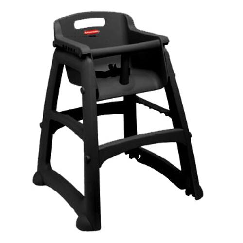 Rubbermaid FG781408BLA Sturdy Chair Youth Seat