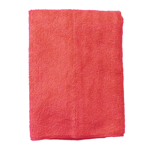 """Continental Commercial E820016 16"""" x 16"""" Red Polyester / Polyamide Supremo General Purpose Cloth"""