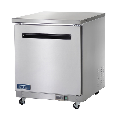 """Arctic Air AUC27R 27.88""""W One-Section Undercounter Refrigerated Work Top Counter"""