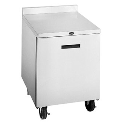"""Randell 9404-290 27"""" W One-Section Solid Door Reach-In Undercounter Refrigerator"""