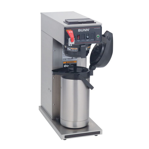 Bunn 23001.0006 3.8 Gal/Hour Stainless Steel CWTF15-APS Airpot Coffee Brewer -  120 Volts 1370 Watts