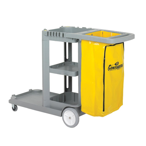 Continental Commercial 184GY Janitor Cart