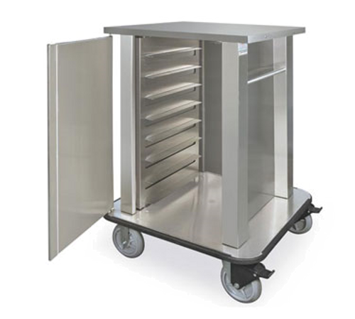 Piper Products TQM1-N8 Hospital Tray Delivery Cart