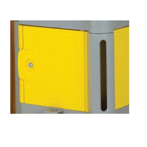 Continental Commercial 187YW Yellow Lock Box for #184