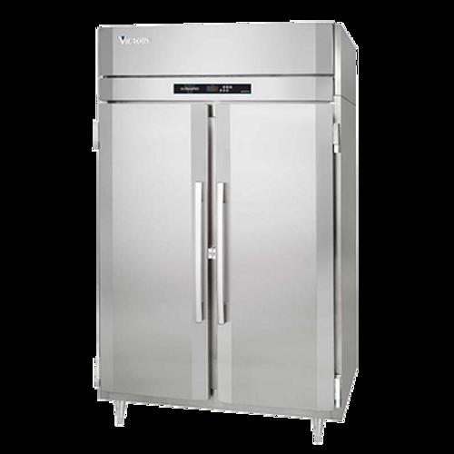 "Victory FSA-2N-S1-HC 58.38"" W Two-Section Solid Door Reach-In UltraSpec™ Series Freezer"