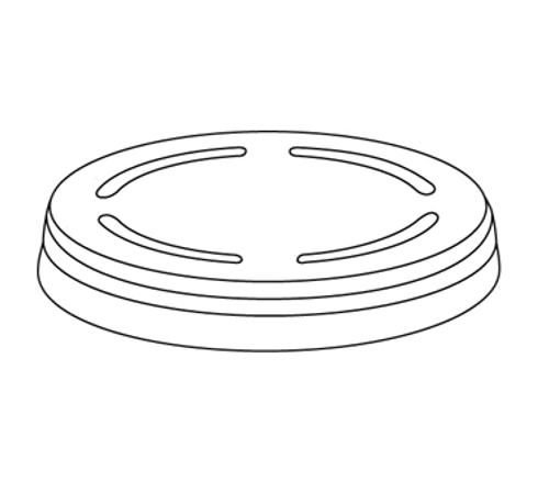 Dinex DX59-61 59mm-61mm Clear-View Disposable Lid