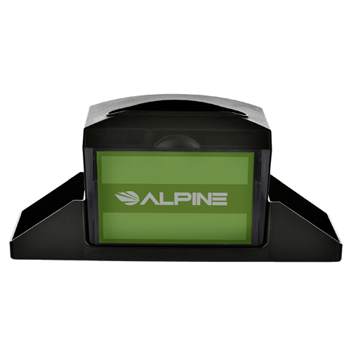 Alpine ALP4331-C Tabletop Fullfold Napkin Dispenser with Caddy (Packed by 2)