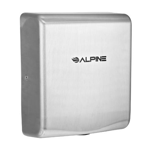 Alpine ALP405-20-SSB Willow Hand Dryer with HEPA Filter - 220V