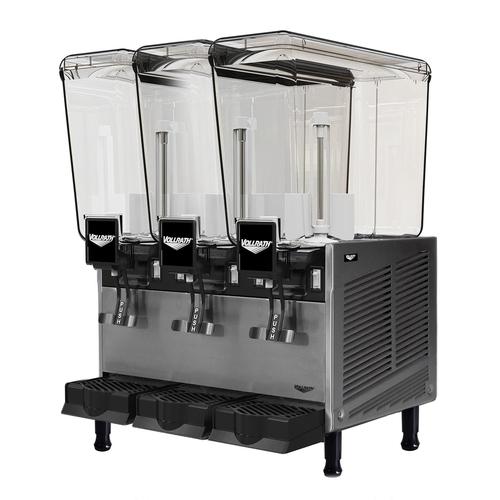 Vollrath VBBE3-37-S Electric Vollrath Pre-Mix Refrigerated Bverage Dispenser - 115V