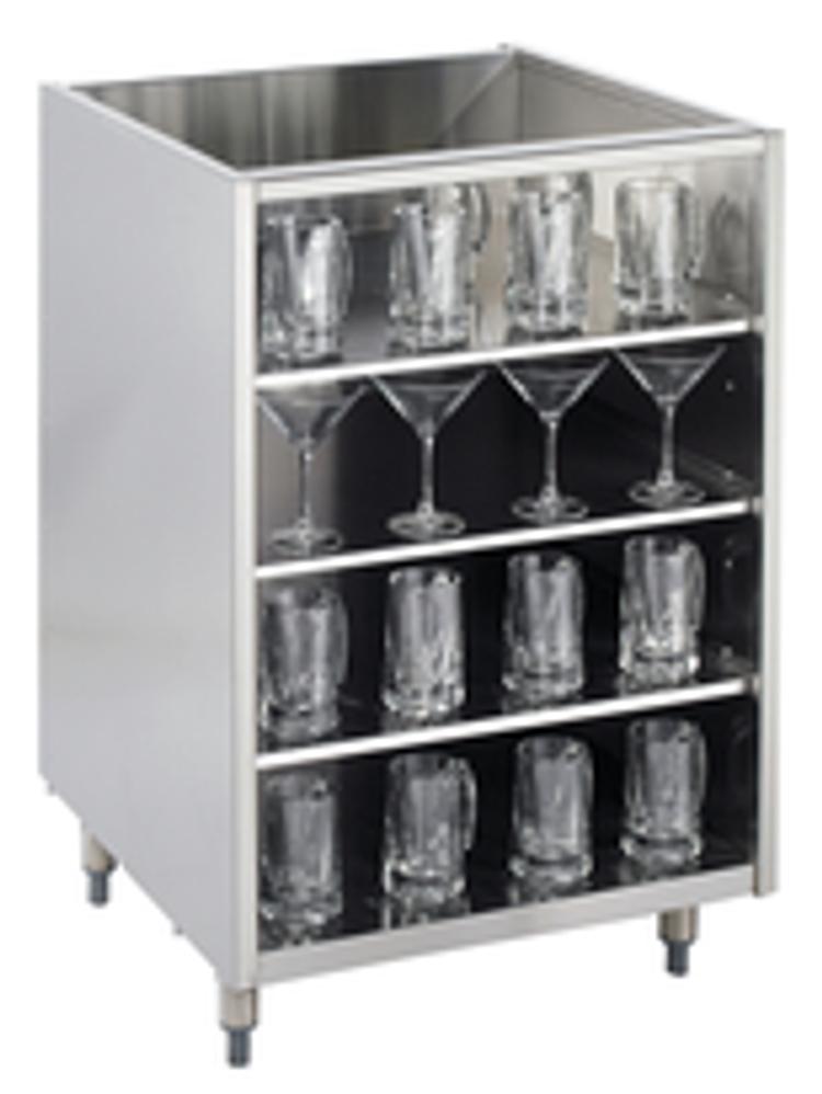 Krowne Underbar Glass Rack Storage Unit