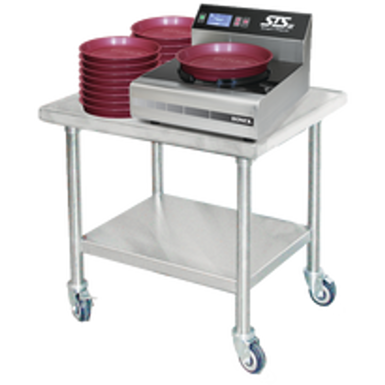 Dinex Stainless Steel Work Tables with Undershelf
