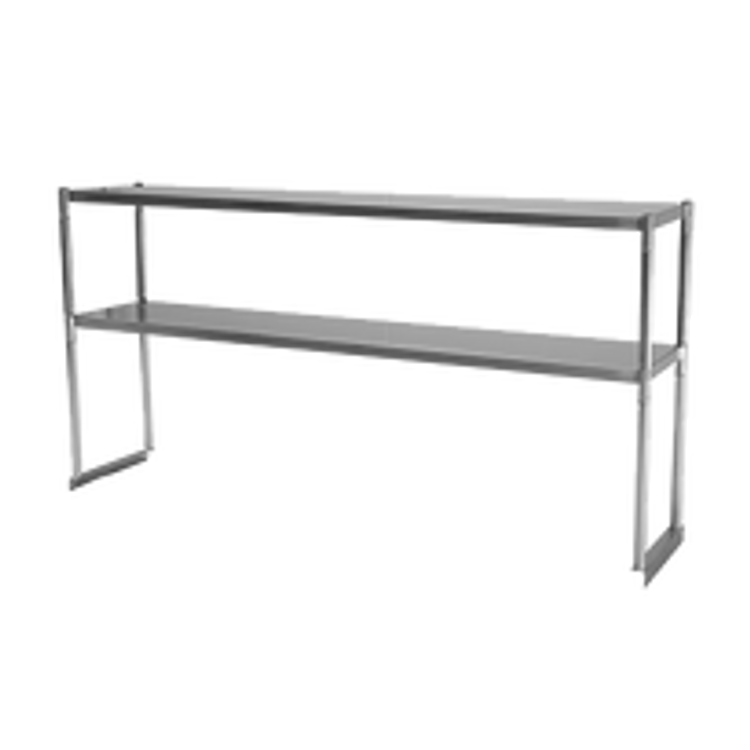 Turbo Air Table Mounted Overshelves