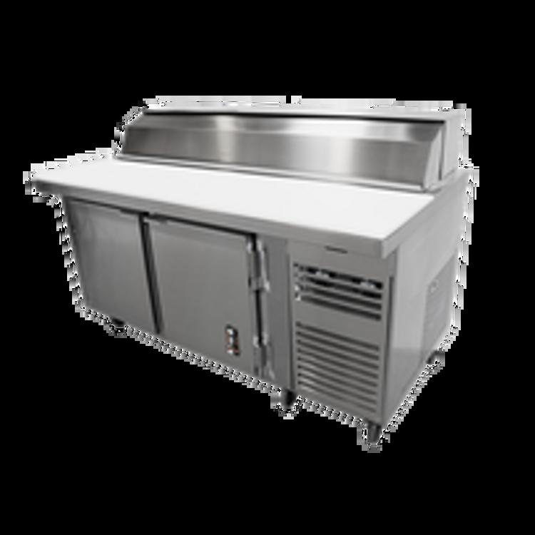 Montague Sandwich & Salad Preparation Refrigerator