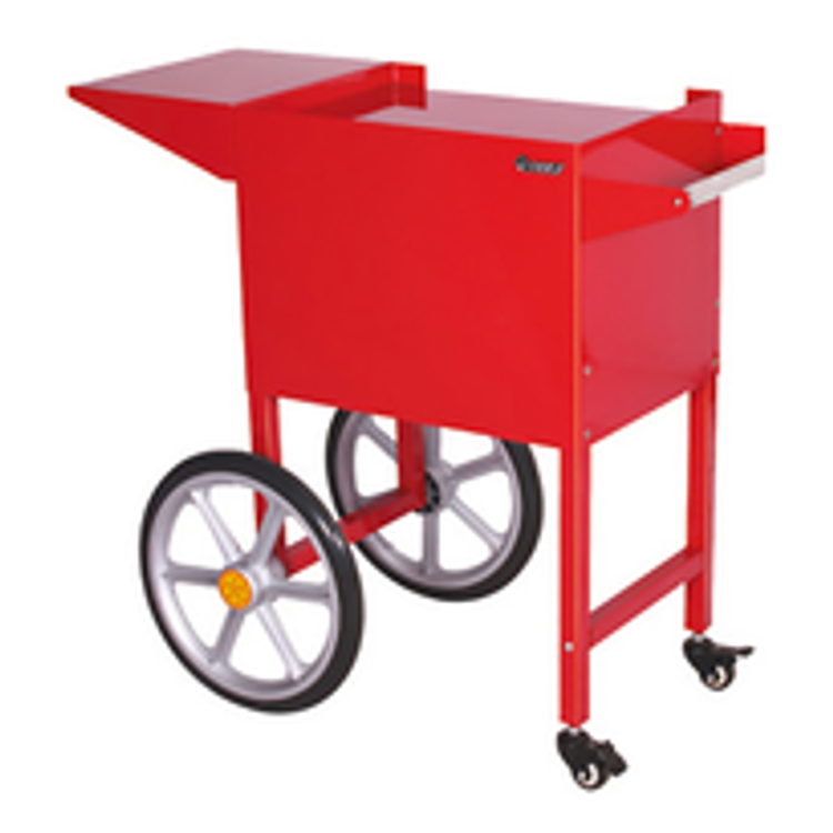 Admiral Craft Popcorn Display Stands and Carts