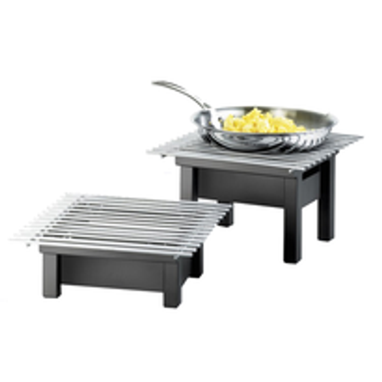 Cal-Mil Chafer Griddles and Chafing Stand