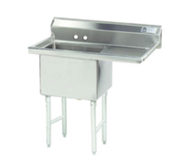 Advance Tabco 1 Compartment Sink