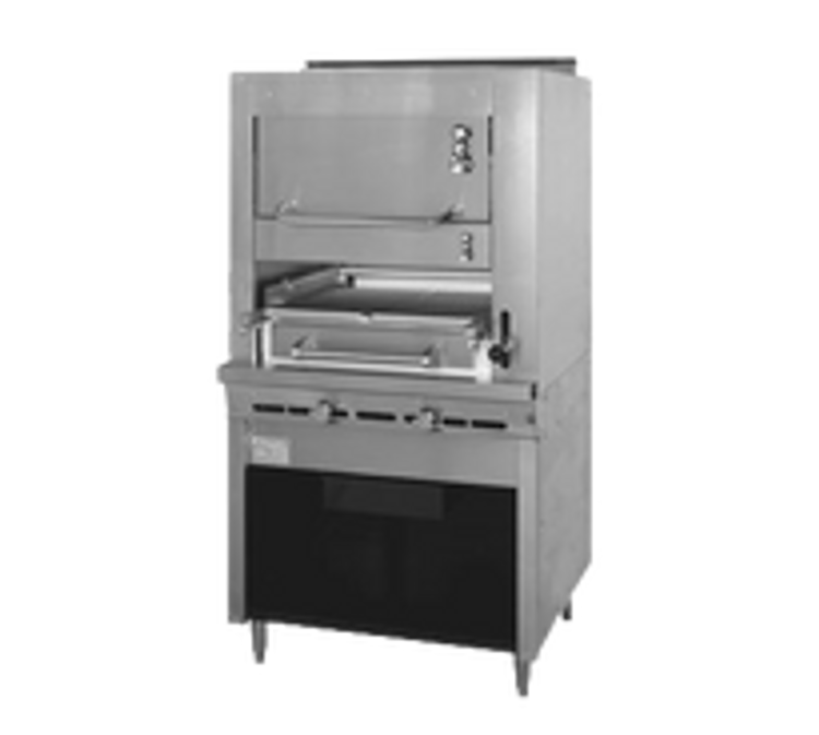 Montague Commercial Broiler and Upright Broiler