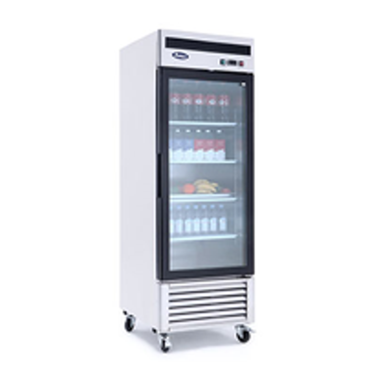 Atosa USA, Inc. Glass Door Merchandiser Freezer