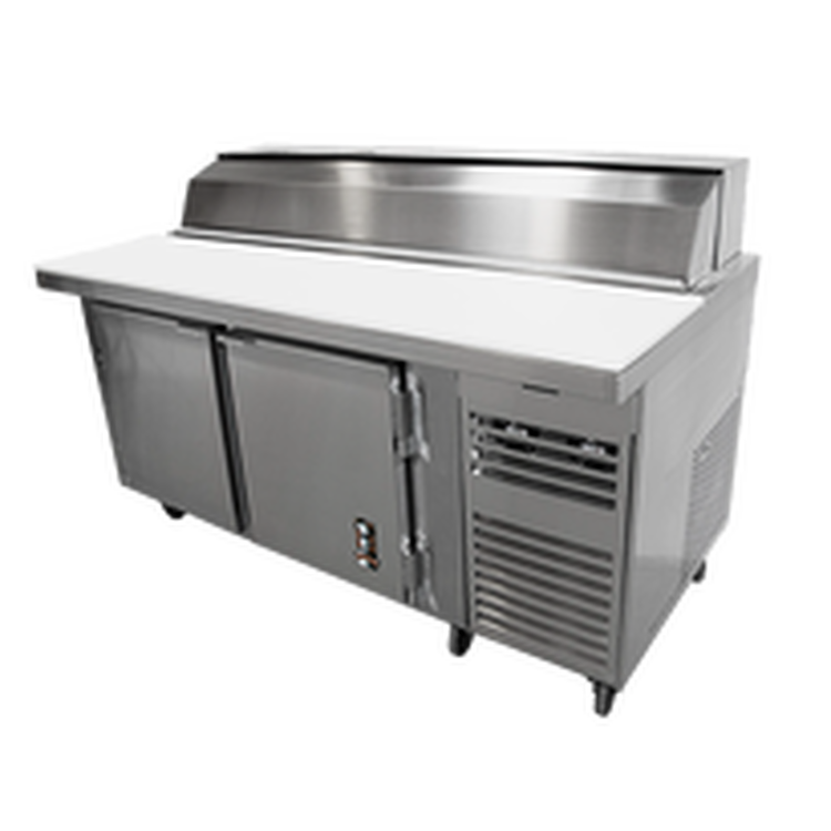 Montague Pizza Preparation Refrigerator