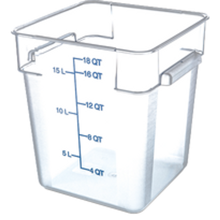 Carlisle Food Storage Container and Lids