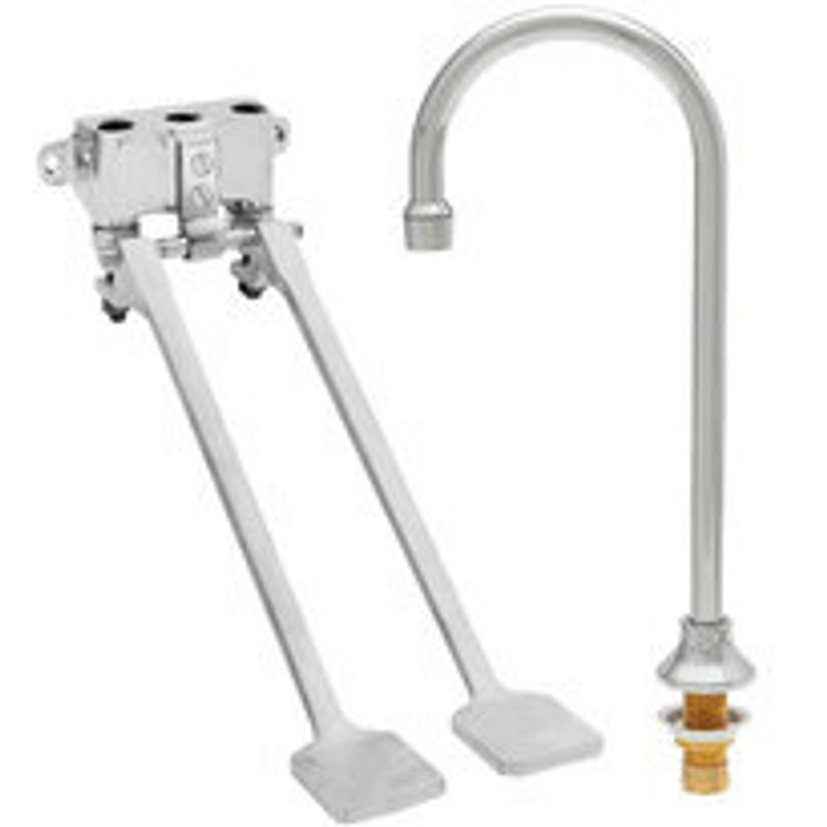 Fisher Pedal and Hands Free Sink Valves