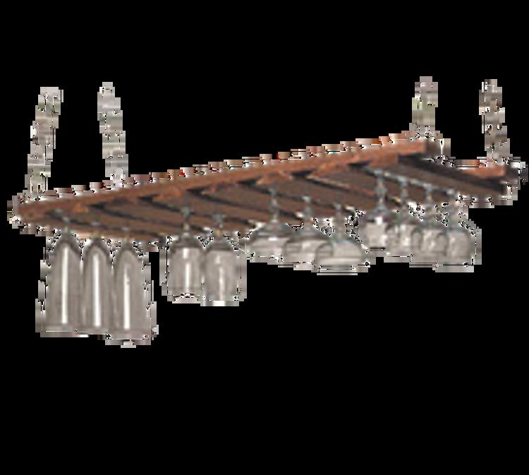 American Metalcraft Hanging Bar Glass Racks