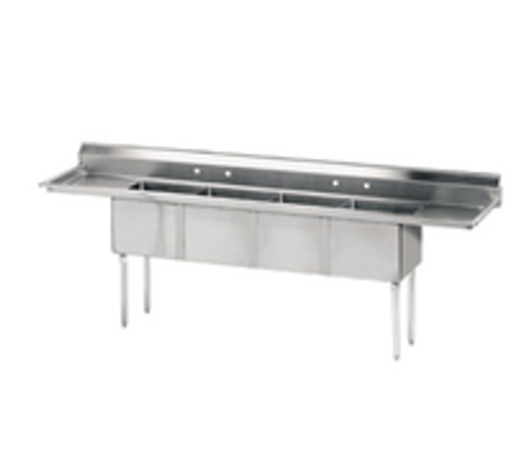 Advance Tabco 4 Compartment Sink