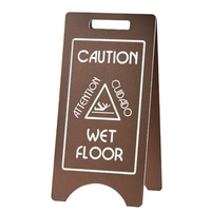 Cal-Mil Wet Floor Sign