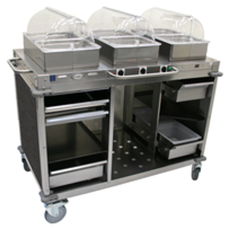 Cadco Commercial Steam Table