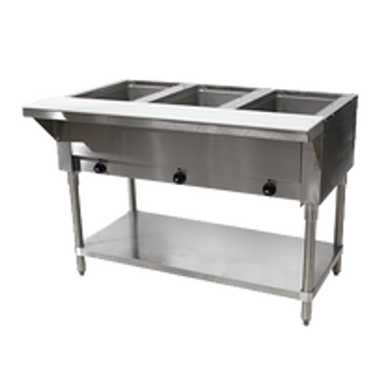Advance Tabco Commercial Steam Table