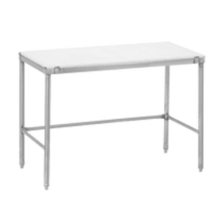 Channel Manufacturing Poly Top Work Table