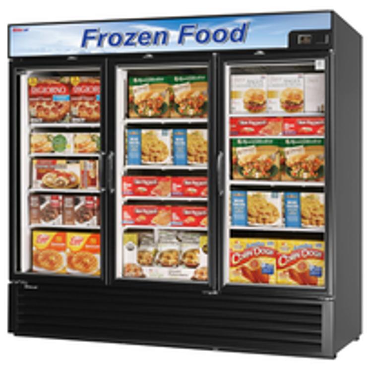 Turbo Air Glass Door Merchandiser Freezer