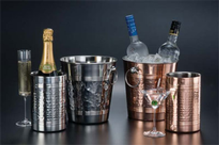 American Metalcraft Wine Buckets and Wine Coolers