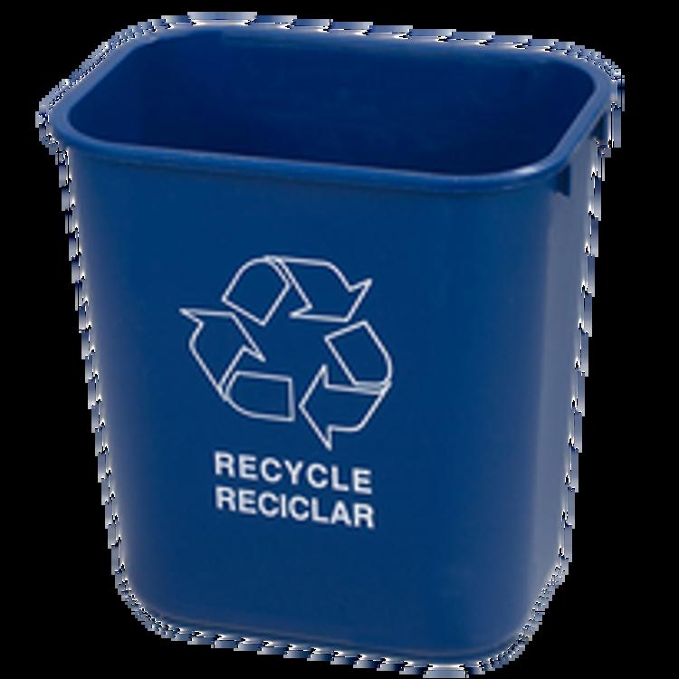 Carlisle Space Saving Trash Can