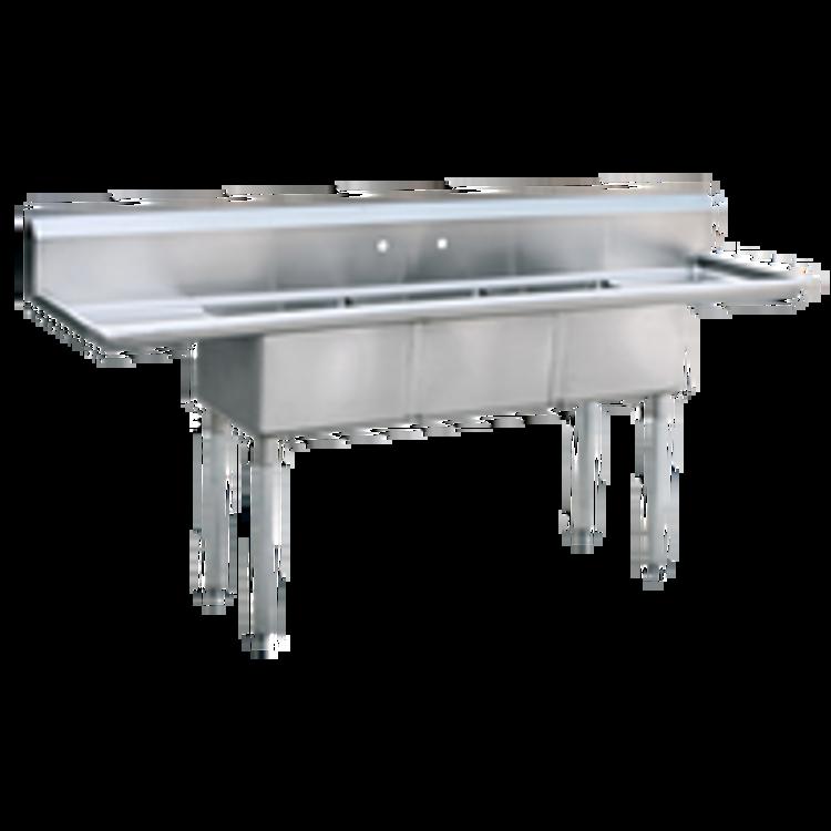 Atosa USA, Inc. 3 Compartment Sink