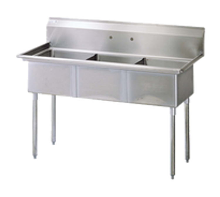 Turbo Air 3 Compartment Sink