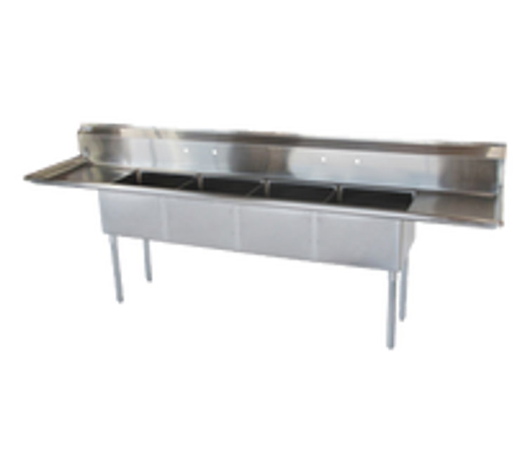 Turbo Air 4 Compartment Sink