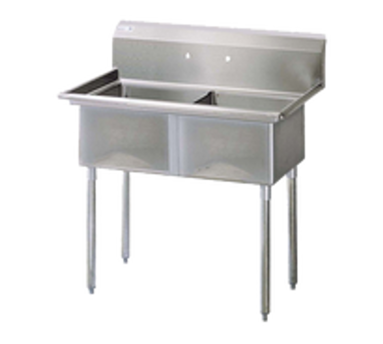 Turbo Air 2 Compartment Sink