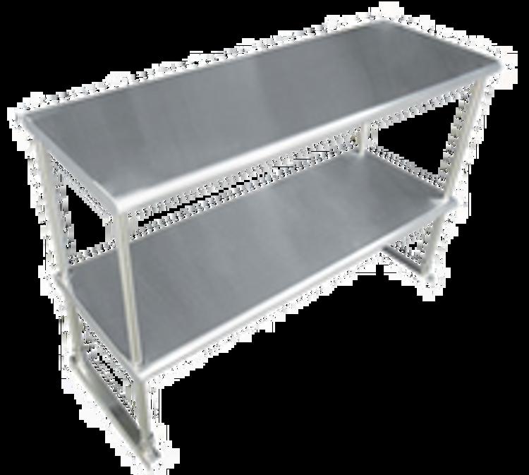Advance Tabco Table Mounted Overshelves
